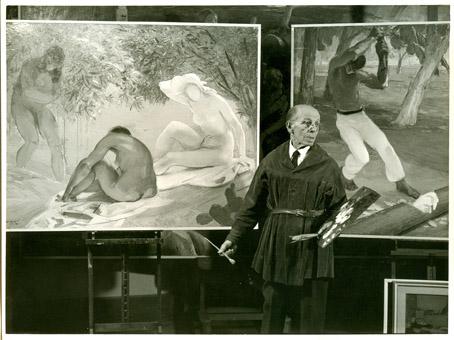 1975-76 Nel suo studio a Roma cm.24x18