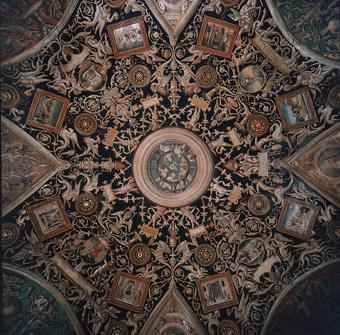Fig.8 Camera dell'Araldi, la volta