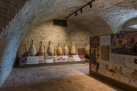 Cantina dei Musei del Cibo interno Museo