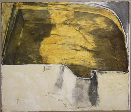 Giuliano Collina, Dentro cisterne d'acqua lustrale come in un fonte battesimale, 2005