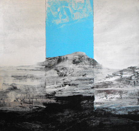 Simone Ponzi, Land(e)scape bianco, 2010