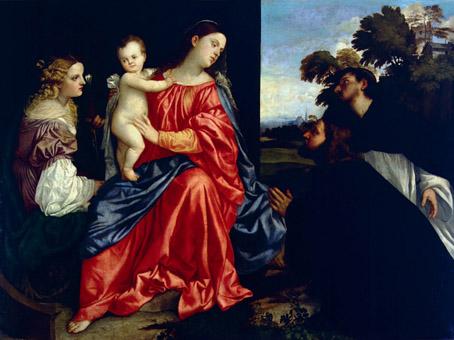Tiziano, Sacra conversazione, 1513 circa